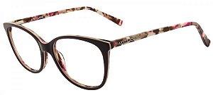 ATITUDE Óculos de Grau AT7064 - Vinho/Taratruga - T01/53