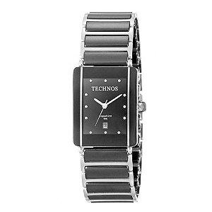 Relógio Analógico Technos Feminino Elegance Ceramic GN10AB