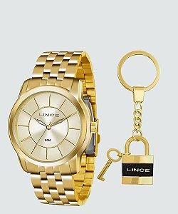 Kit Relógio Feminino Lince LRG4510L KU54C1KX