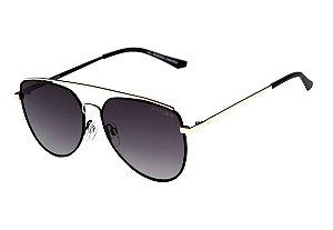 Óculos de Sol Atitude At 3222 09A Preto Fosco/ Preto Degradê