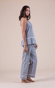 Pijama Listrado Algodão