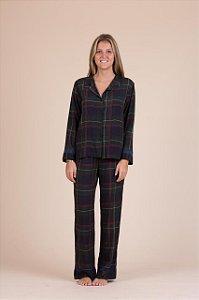 Pijama  viscose xadrez