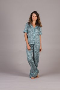 Pijama Cashmere Manga Curta
