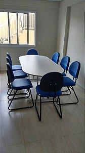 Mesa reunião Econômica
