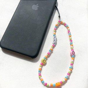 Phone strap colorido