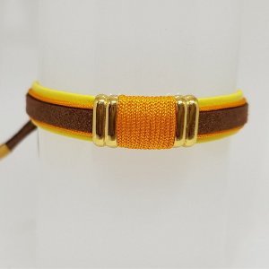 Pulseira infantil laranja