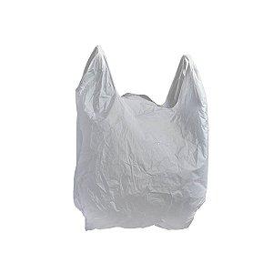 Sacola Plástica 50x60cm 0,003mm Branca Tratada