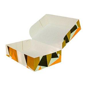 Caixa Monoformato Tamanho Médio (M) (21x15x05cm) Losango com 5 Caixas