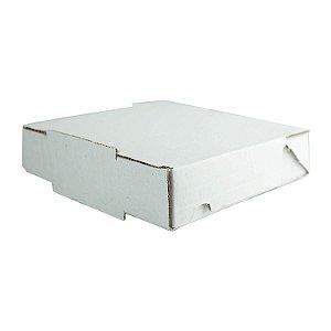 Caixa de Papelão Lisa Nº10 24x20,6x06cm para Salgados, Esfihas e Doces com 25 Unidades