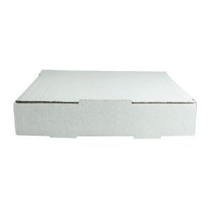 Caixa de Papelão Lisa Nº15 25,9x22x5,6cm para Salgados, Esfihas e Doces com 25 Unidades