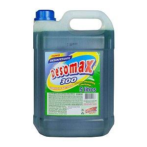 Desinfetante Perfumado 300 Ação Bactericida 5L Desomax