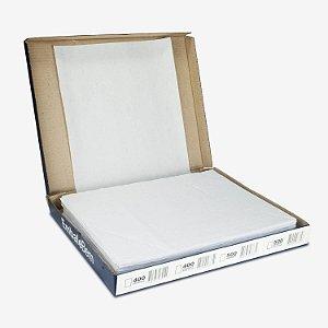 Papel Acoplado Mono Liso 30x38cm com Barreira de Gordura com 400 Folhas
