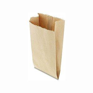 Saco de Papel Pardo 20x44cm 7,5 Kg  com 500 Embalagens
