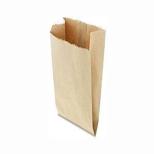 Saco de Papel Pardo 23x57cm 15 Kg com 500 Embalagens