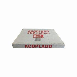 Papel Acoplado Mono 30x40cm para Frios com 500 Folhas