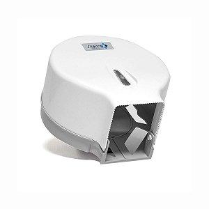 Dispenser para Papel Higiênico Rolão (300 a 600m) Branco
