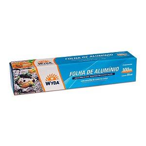 Folha de Alumínio 30cmx100m Wyda