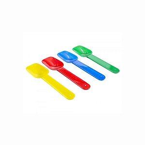 Pázinha Pequena Colorida para Sorvetes com 500 Pázinhas Prafesta