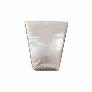 Saco Plástico Cone 19x30x35cm para Rúcula, Ameirão e Outras Hortaliças