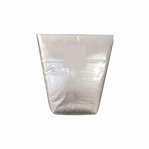 Saco Plástico Cone 22x35x30cm para Rúcula, Almeirão e Outras Hortaliças