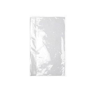 Saco Plástico Virgem PE 13x25cm 0,006mm com 1kg, 500 Sacos