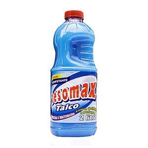 Desinfetante Talco 2L Limpa, Perfuma e Desinfeta Desomax