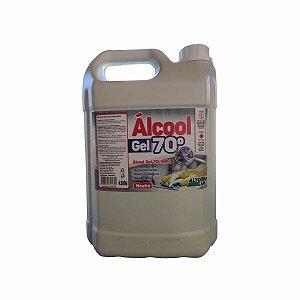 Álcool Gel 70º INPM Neutro Galão com 5L