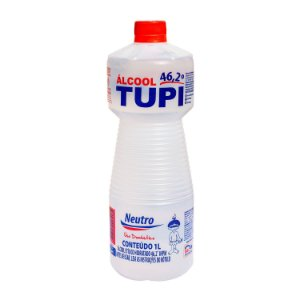 Álcool Etílico 46,2º INPM Líquido 1L Tupi