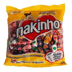 Pacote de Balas Sortidas 600g Nakinho