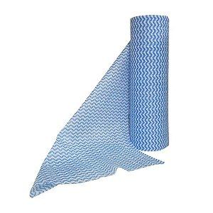 Pano Multiuso Azul 30cmx25m 35g/m² Rolo com 50 Panos SuperPro Bettanin