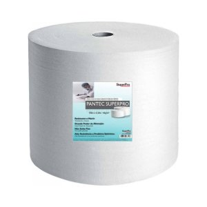Pano para Limpeza Profissional Pantec Branco 30cmx190m 60g/m² Rolo SuperPro Bettanin