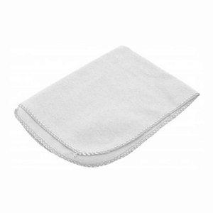 Flanela Branca Pequena (P) 28x38cm para Limpezas