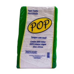 Papel Tolhada Interfolhado 100% Celulose POP