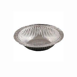 Marmitex de Alumínio Redonda W8 850ml para Máquina Wyda com 100 Marmitas