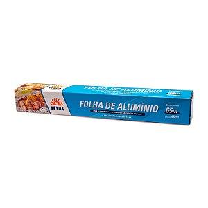 Folha de Alumínio 45cmx65m Wyda