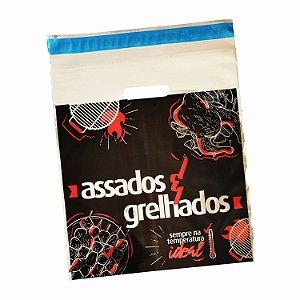 Embalagem Térmica para Frango, Assados Personalizada para Delivery + Saco BOPP Transparente