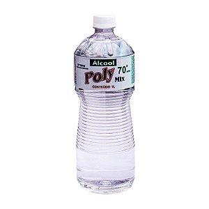 Álcool Etílico 70º INPM Líquido 1L PolyMix