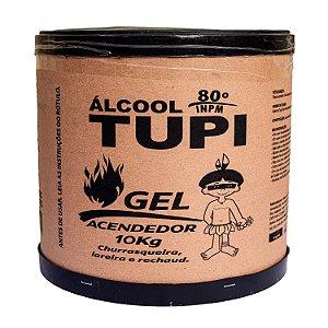Álcool em Gel 80º INPM 10kg Tupi