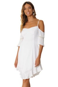 Vestido Catarina Branco