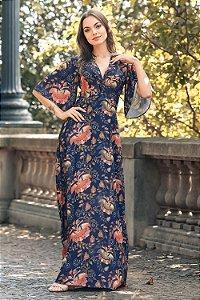 Vestido Longo Roberta Azul