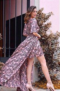 Vestido Longo Claudia Rosa