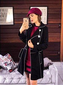 Trend Coat Marjorie Preto