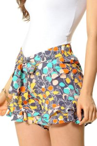 Shorts Gisele Cinza