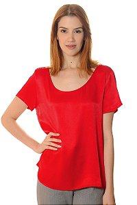 T-shirt Ellen Vermelha