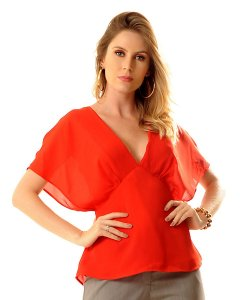 Blusa Joana Vermelha