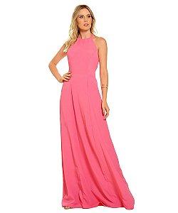 Vestido Longo Helena Rosa
