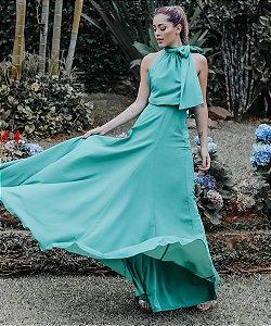 Vestido Longo Dandara Verde