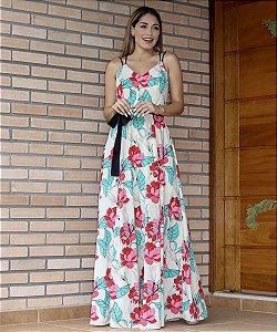 Vestido Longo Hellen Floral