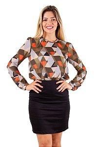 Vestido Nicole Geométrico