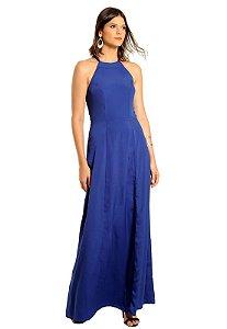 Vestido Longo Helena Azul
